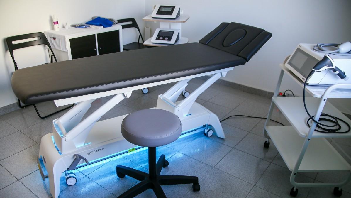 Lettino per Elettroterapia